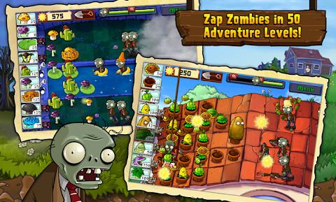 لعبة Plants vs Zombies الجزء الأول