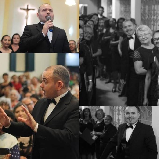 INGÁ: Coral Municipal de Ingá participa hoje, pela primeira vez de um evento nacional de coros.