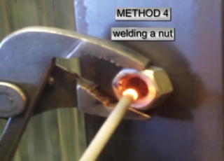 Gambar cara welding patahan