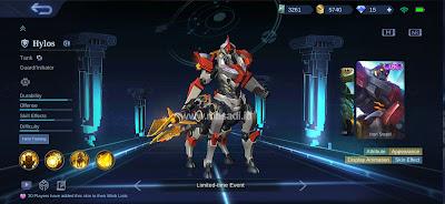 Hylos Iron Steed
