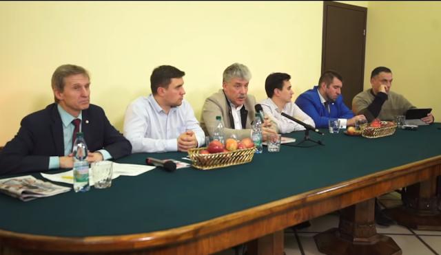 Грудинин на пресс - конференции 14 ноября 2019 года