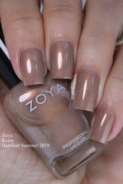 Zoya Keira Barefoot Summer 2019