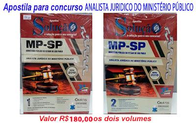"Apostila para o Concurso de ""Analista Jurídico do Ministério Público"""