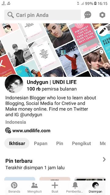 undygun Pinterest Profile