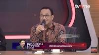 Anies Memukau di #ILCIndonesiaMasaDepan, Kok Wajah Narsum Ini Cemberut?