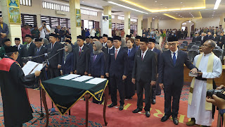 Dewan Kota Cirebon Dilantik, Pimpinan Masih Sementara