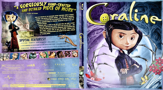Coraline Bluray Cover