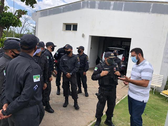 MACAU RN-CIA. DE POLÍCIA DE MACAU RECEBE 42 NOVOS SOLDADOS;