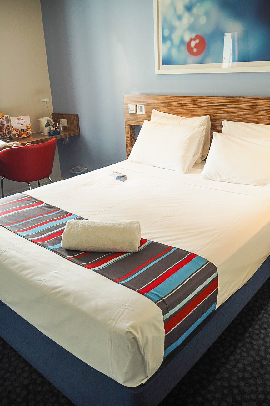 Bed in Travelodge, Poole