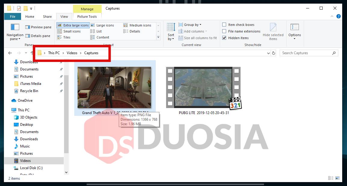 cara screenshot di game windows 10