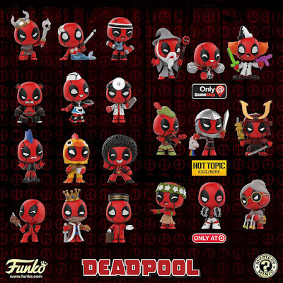 Deadpool in Costume Mystery Minis Blind Box Series by Funko x Marvel