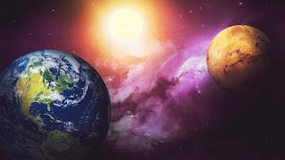 المريخ كوكب صالح للحياة