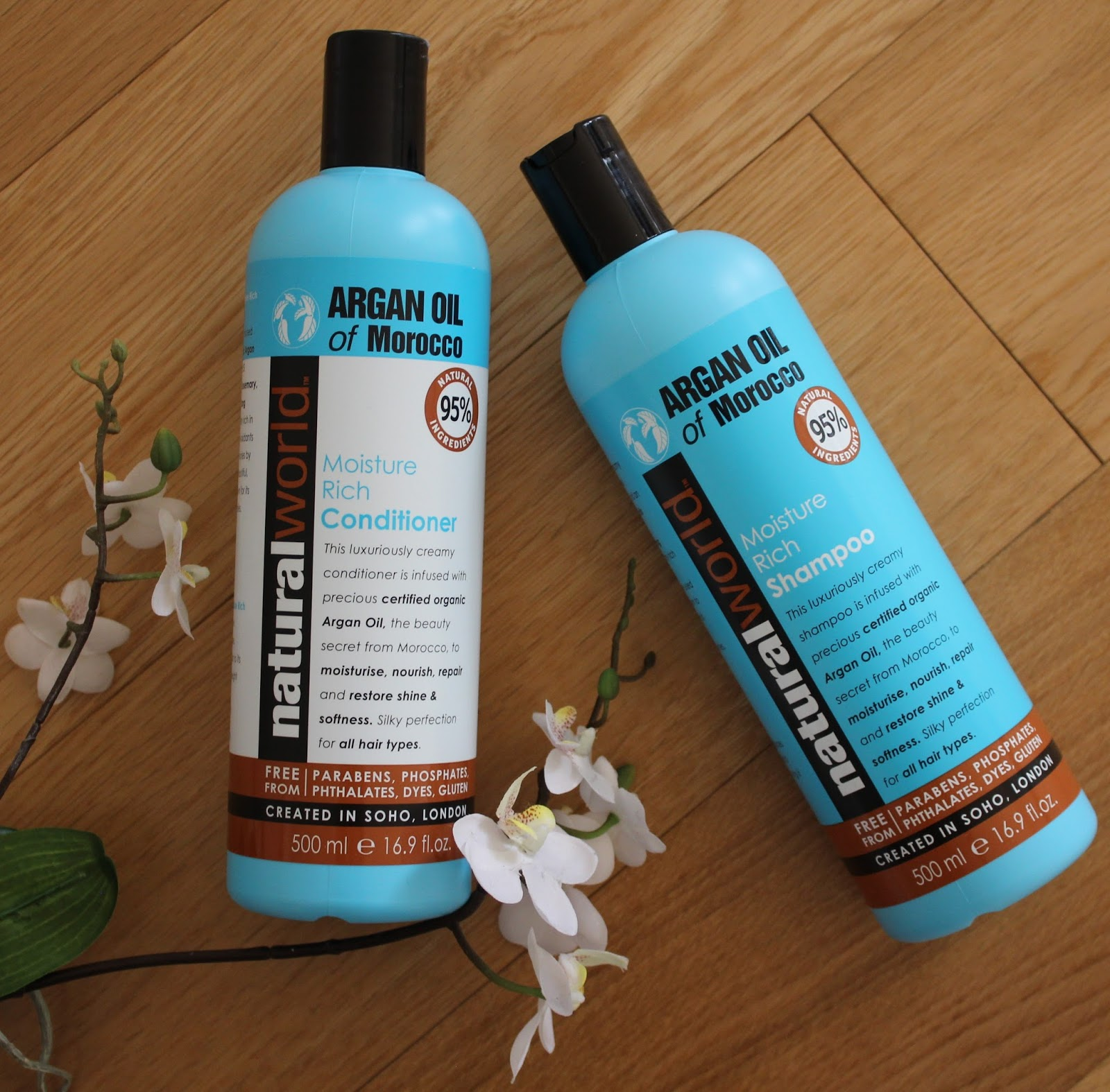 Natural World Argan Oil Haircare Range - 2
