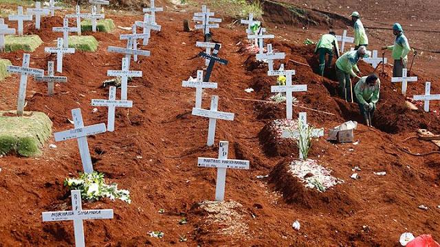Sudah Enam Bulan, di Indonesia 10.105 Jiwa Meninggal Akibat Covid-19