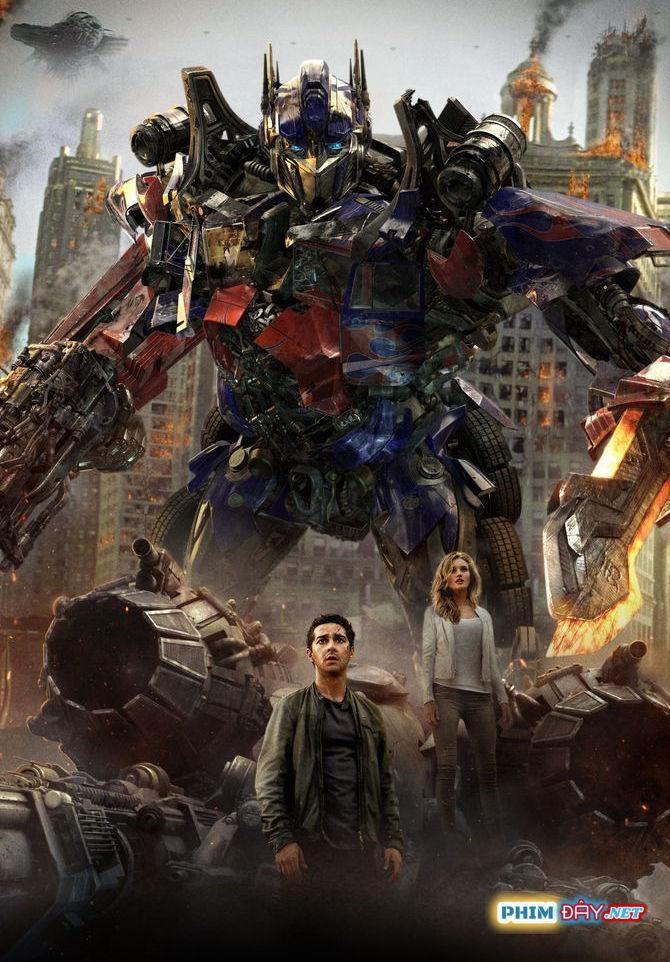 ROBOT ĐẠI CHIẾN 3: VÙNG TỐI CỦA MẶT TRĂNG - Transformers 3: Dark of the Moon (2011)