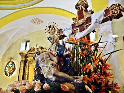 Virgen de las Angustias. Cofradía de Nuestra Señora de las Angustias y Soledad. León. Foto G. Márquez.