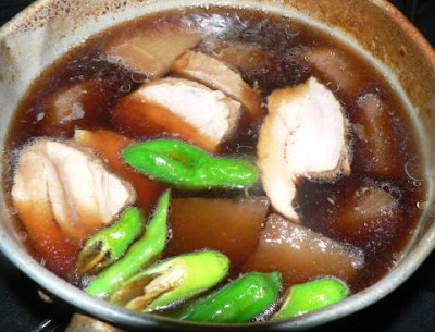 豚バラブロックと大根の煮物