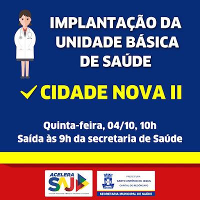Prefeitura de SAJ inaugura Unidade de Saúde no Cidade Nova II nesta quinta (40)