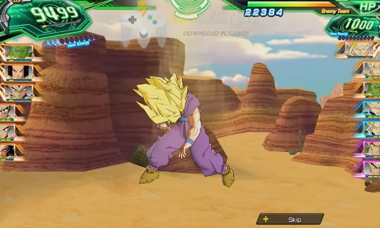 تحميل لعبة Super Dragon Ball Heroes مضغوطة