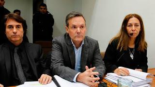 La amenaza que recibió este domingo Sandra, la hermana de Claudia Schaefer, fue hecha desde una línea a nombre del hermano de Fernando Farré.