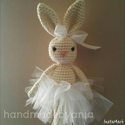 Bunny crochet pattern for sale/ Szydełkowy wzór na króliczka na sprzedaż