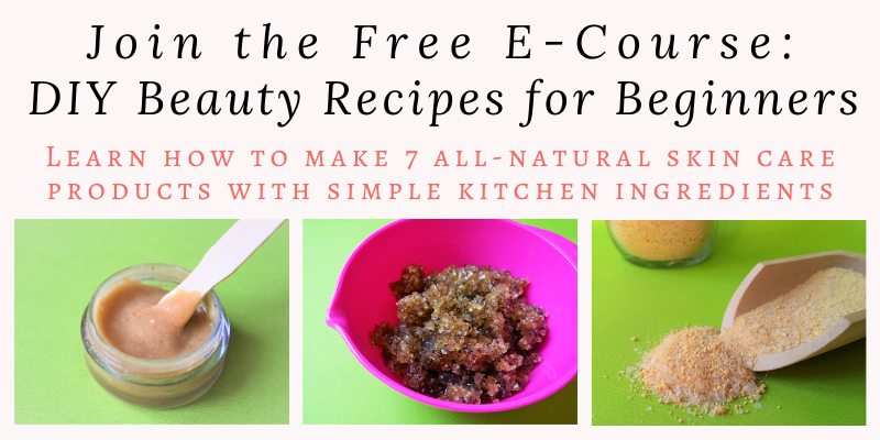 Learn how to make DIY skin care products with simple kitchen ingredients. This FREE e-course DIY Skin Care for Beginners will show you how. Sign up now and learn how to make 7 easy DIY skin care recipes with simple all natural ingredients. By Angela Palmer at Farm Girl Soap Co.