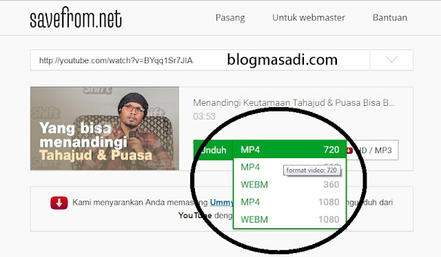 Tips Mendownload Video Youtube