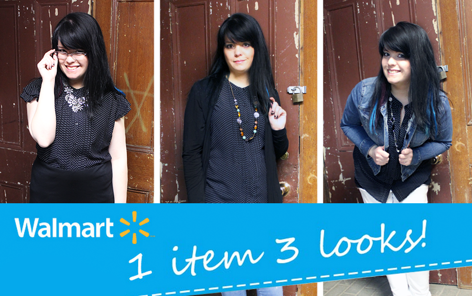 1 item 3 looks avec Walmart #ABCduPrintemps