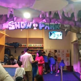 Persiapan menuju Snow Park