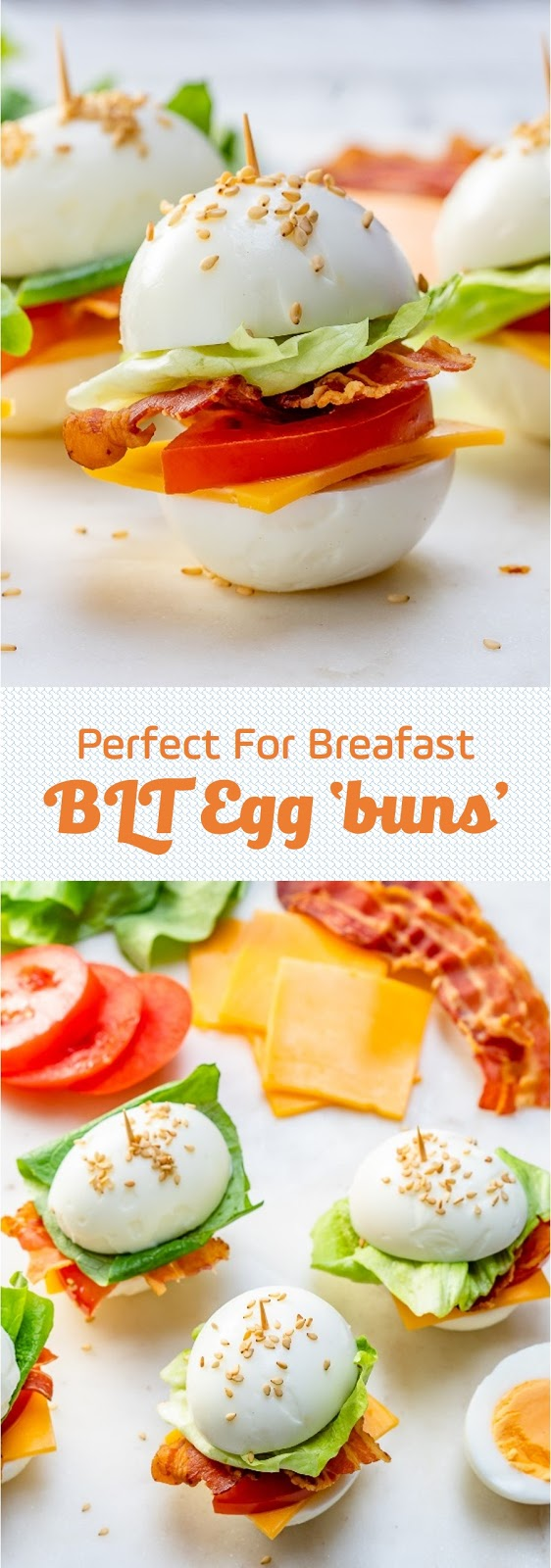 Perfect For Breafast - BLT Egg 'buns'