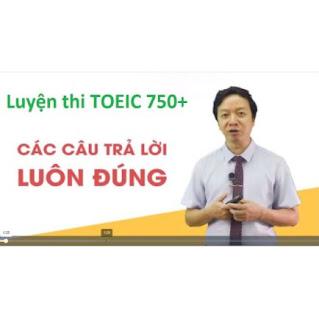 Khóa học online luyện thi TOEIC cấp tốc mục tiêu từ 450 đến 750. Học 24/7, trọn đời ebook PDF EPUB AWZ3 PRC MOBI