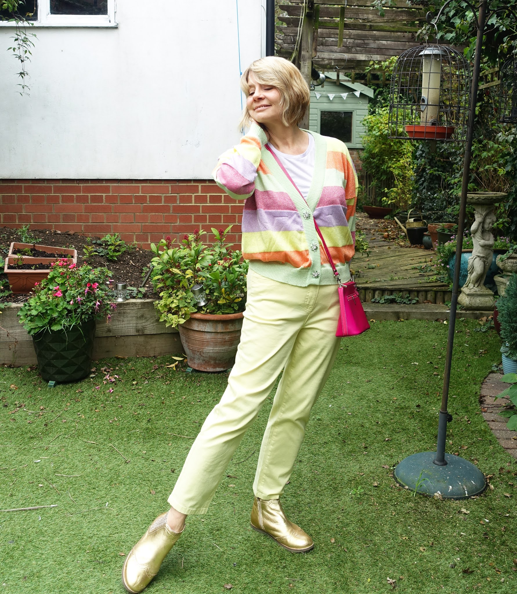 Is This Mutton style blogger Gail Hanlon in ice cream colors for autumn and winter