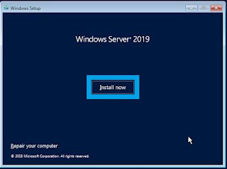 Windows Server - Install Now