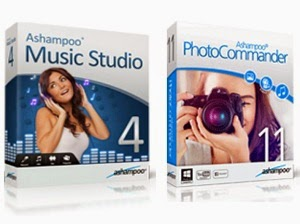ashampoo ,1 - Ashampoo ® Burning Studio 2015  ($40 )  2 - Ashampoo ® Music Studio 4 ( $20 )  3 - Ashampoo ® Snap 7 ( $20 )  4 - Ashampoo ® Photo Commander 11 ($40 )  5 -Ashampoo ® WinOptimizer 2014 ($30 )