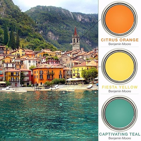 Mediterranean Kitchen Color Palettes