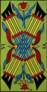 Le Six de Bâton