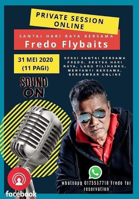 Santai Hari Raya Bersama Fredo Flybaits 31 Mei 2020 11 Pagi