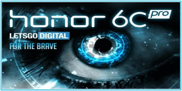 هواوي تستعد لإطلاق هاتفها الجديد Honor 6C Pro بمواصفات متوسطة