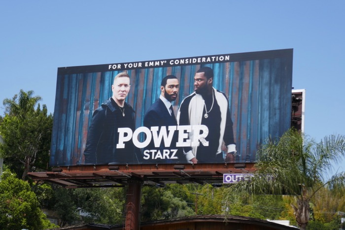 Power season 5 Emmy FYC billboard