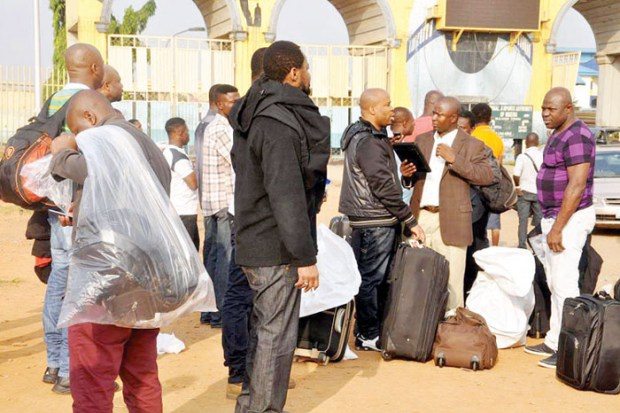 nigerians deported uk