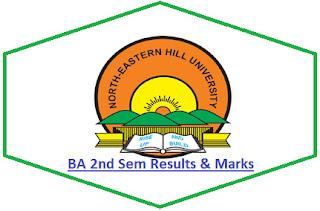 NEHU BA 2nd Semester Result 2021