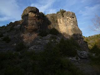 Zona de escalada en Valera de Abajo