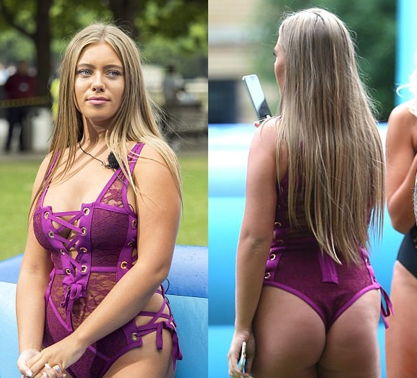 Love Island's Tyne-Lexy Clarson in swimsuit segment
