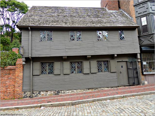 Casa de Paul Revere en Boston