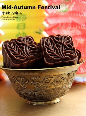 Chocolate Nut Mooncake