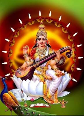 saraswati devi images free download