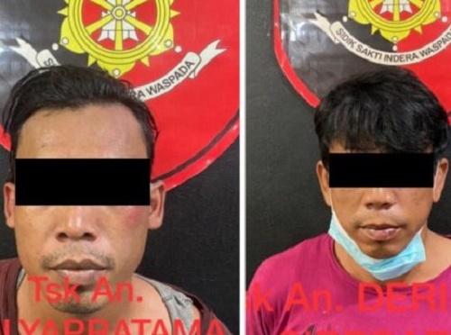 Pelaku Curas di Mall Avava Batam, Berhasil diamankan Polisi