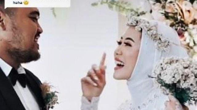 Baru Ijab Kabul dan Sah Jadi Istri, Cewek Asal Tasik Ini Merayu Suami Ingin Peluk Mesra Mantan Pacar