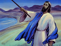 "Then the Lord told Moses, ""Stretch your rod over the sea and you will go through on dry land."""