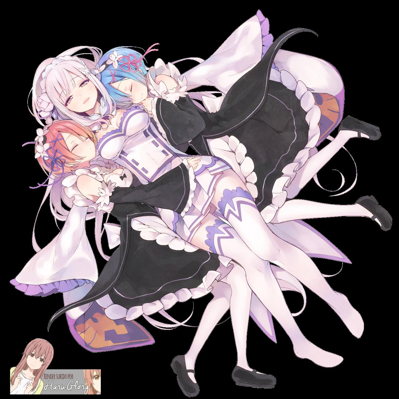 Emilia, Rem y Ram